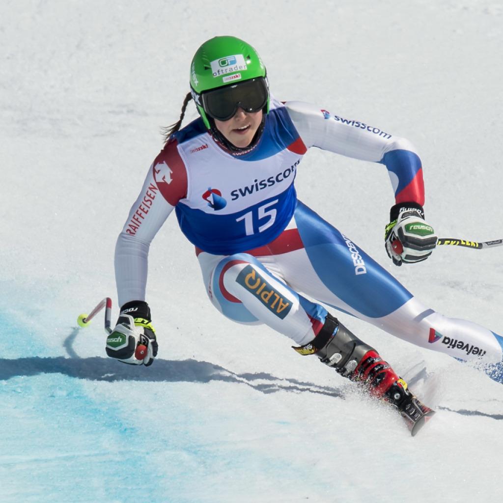 Beatrice Scalvedi an Junioren-WM mit Silber in Abfahrt