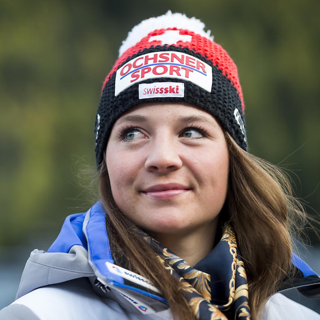 Jasmina Suter Junioren-Weltmeisterin im Riesenslalom