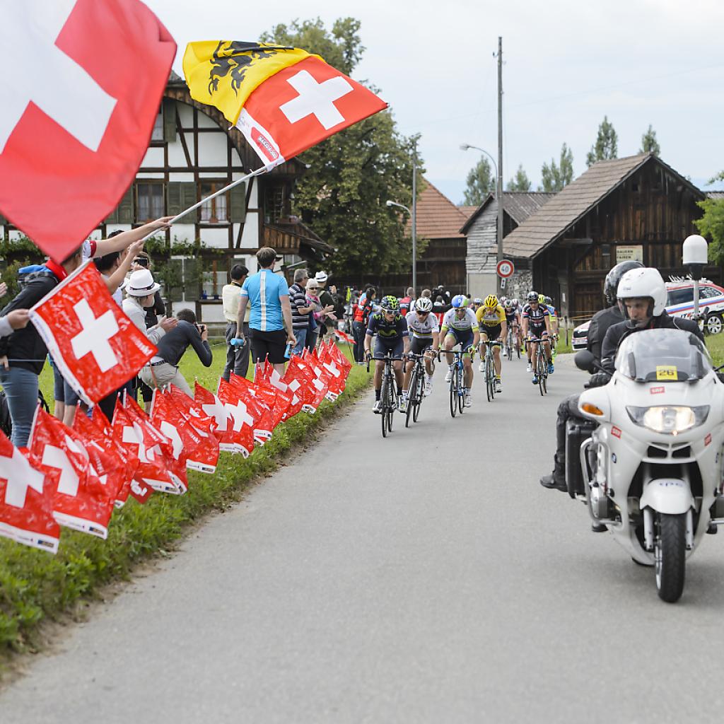 Detaillierter Streckenplan der 80. Tour de Suisse bekannt