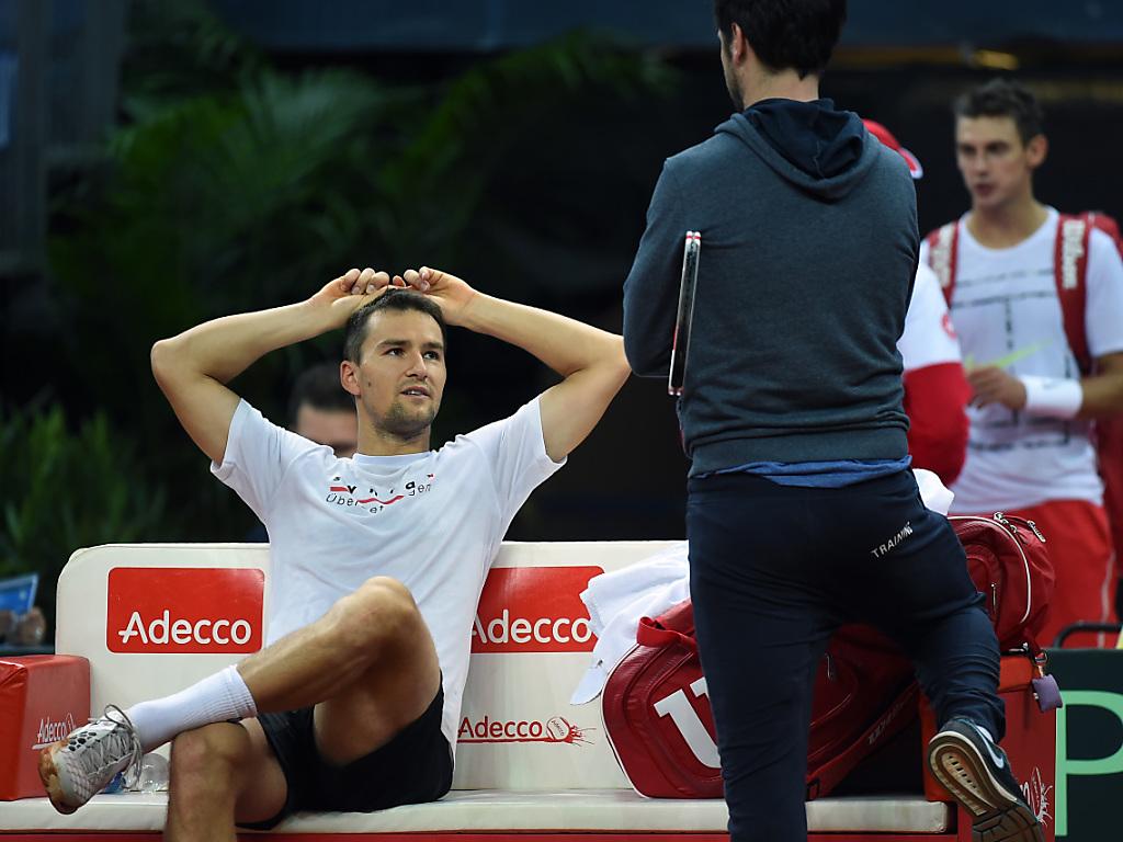 Davis-Cup-Team ohne Federer und Wawrinka klarer Aussenseiter