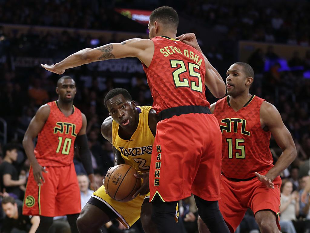 Sefolosha siegt mit den Hawks deutlich bei den Lakers