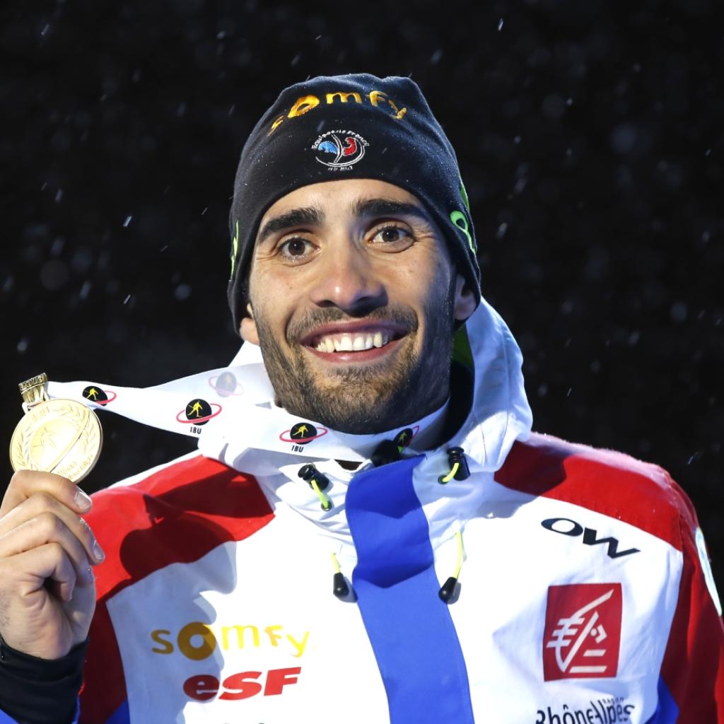 Martin Fourcade reiht an der WM in Oslo Sieg an Sieg