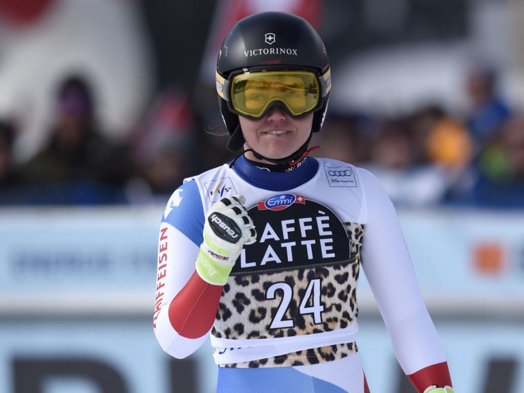 Fabienne Suter in Lenzerheide Super-G-Zweite - Lara Gut Fünfte