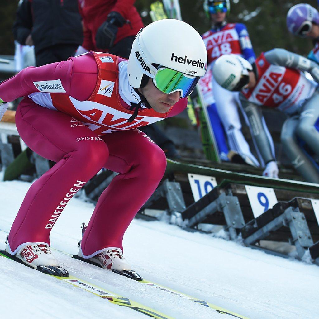 7. Rang für Simon Ammann in Titisee-Neustadt