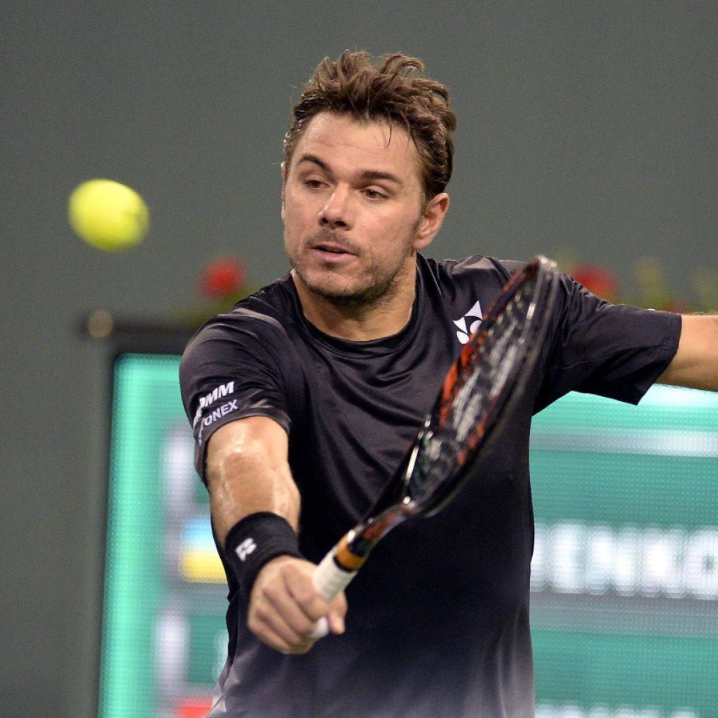 Wawrinka startet perfekt ins Turnier von Indian Wells