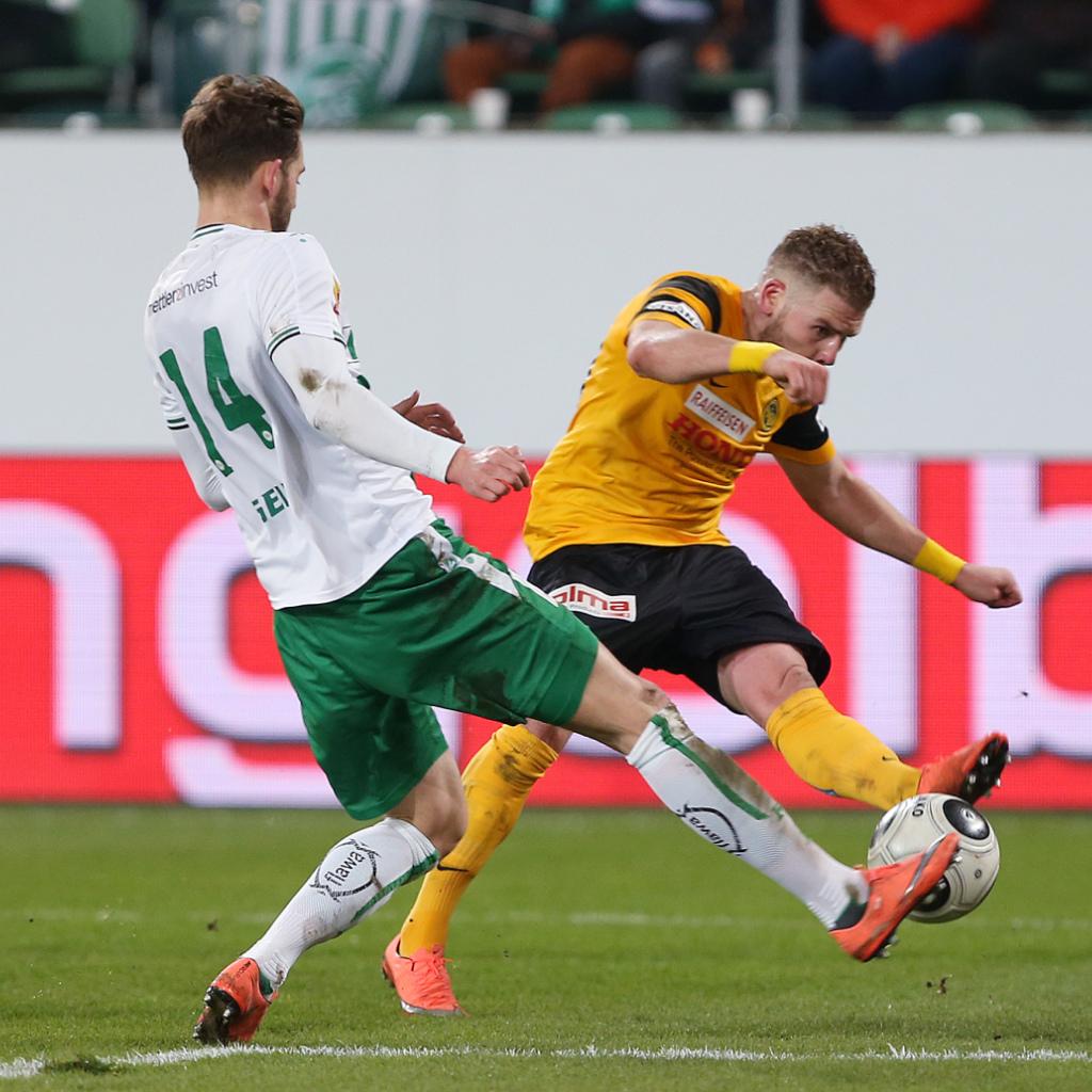 Young Boys setzen Siegesserie in St. Gallen fort