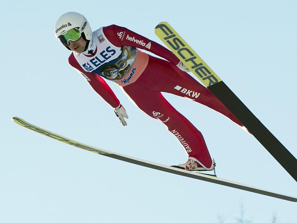Ammann wird mit Schweizer Rekord von 238,5 m Achter in Planica