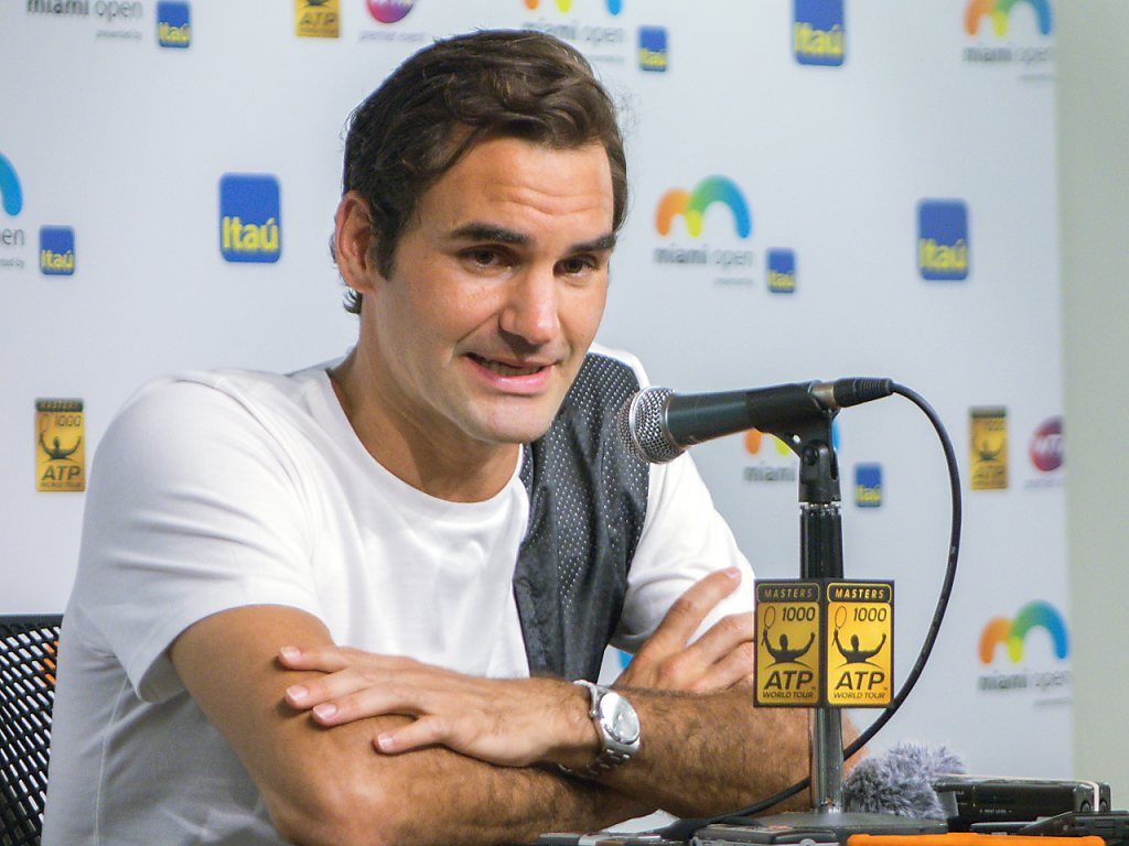 Roger Federer spricht über seine Verletzungspause