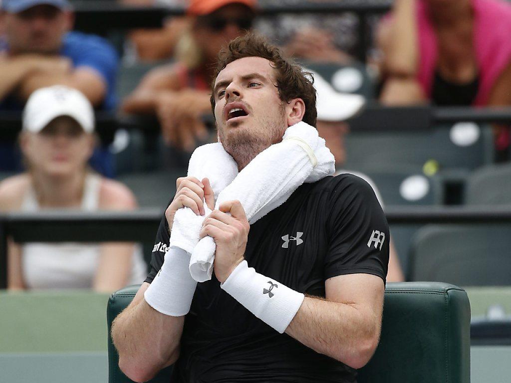 Murray scheitert an Dimitrov