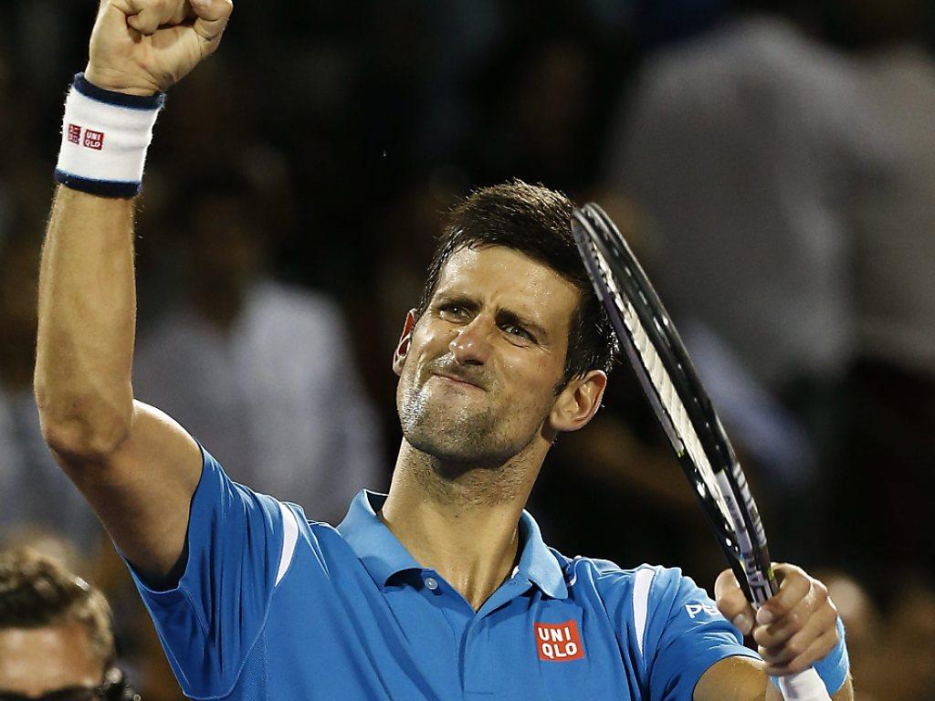 Djokovic besiegt auch Berdych und steht im Halbfinal
