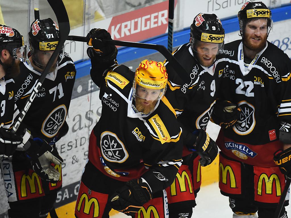 HC Lugano verspielt 2:0-Führung und gewinnt dennoch 5:4